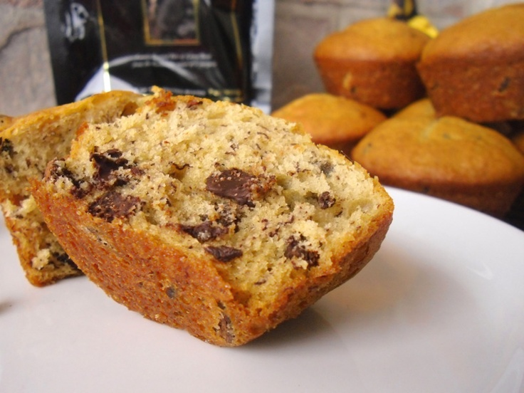 Cocoa Nib Sour Cream Banana Bread: Gourmet Style | Recipe
