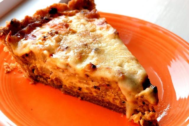 Cauliflower and Caramelized Onion Tart. | Tarts (Savoury) | Pinterest
