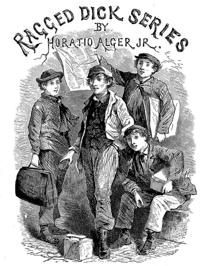 the use of symbolism in the novel ragged dick by horatio alger jr Exploring the american dream in action through horatio jr alger's ragged dick international journal on studies in english language and literature (ijsell.