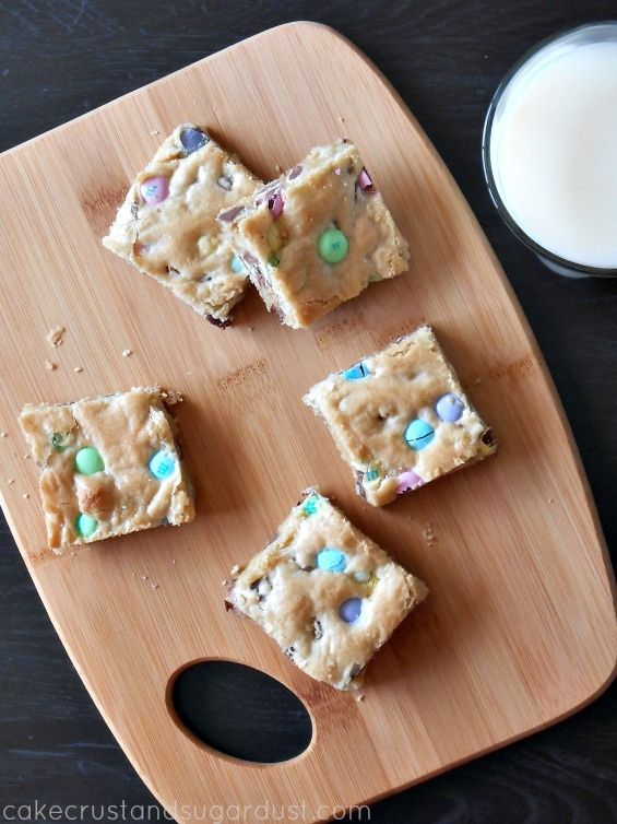 amp m cookie bars soft and buttery cookie bars loaded with easter ...