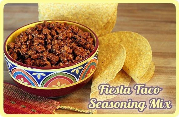 Fiesta Taco Seasoning Mix | Recipe