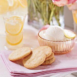 "Lemon-Cornmeal Cookies: ""Humble ingredients in these cornmeal-based ..."