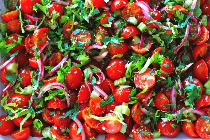 bloody mary salad | Foodie-Salads | Pinterest