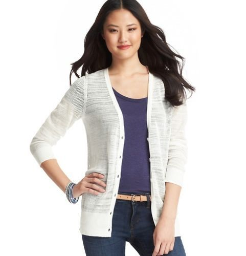 White Cardigan No Buttons 102