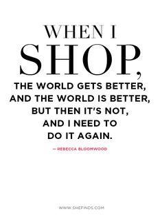 Shopaholic Quotes. QuotesGram