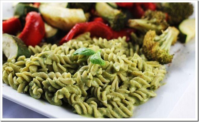 Creamy Oil Free Pesto! | Gluten free | Pinterest