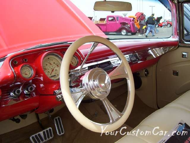 Tri 5 Chevy Interior Custom Cars And Trucks I Love Pinterest