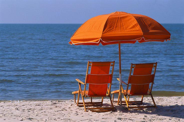 umbrella & chairs