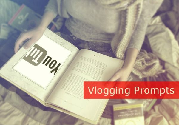 Vlogging Prompts 2.) Local fun? Capture some fun you had in your community recently. 3.) Book review 4.) How are you coping with winter? 5.) Your top 5! S...