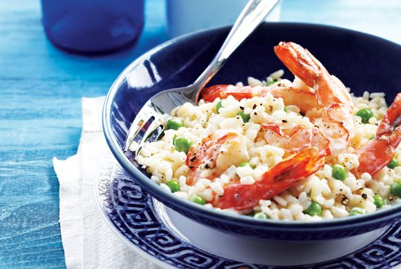 Creamy Herbed Risotto With Shrimp | Dinner | Pinterest