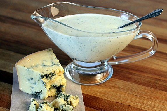 Low-Fat Blue Cheese Salad Dressing & Dip | Recipe