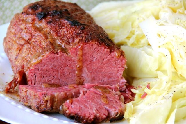 Honey Mustard Glazed Corned Beef | Recipe