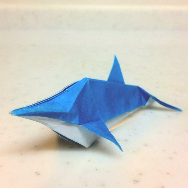 dolphin origami 28 images challenge how to fold an