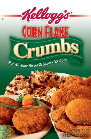 ... Corn Flake Crumbs. Honestly, they make the best breading I have ever