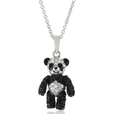 Special andrew hamilton crawford jewelry panda bear black necklace