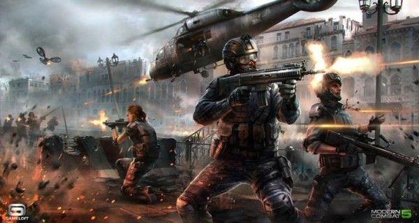 6507cfdb49f97cd7cad567a5f47dad96 بازی Modern Combat 5: Blackout در تاریخ 24 جولای عرضه می شود