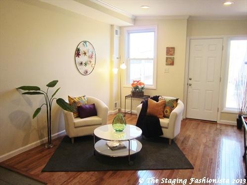Dc living room after staging home staging ideas pinterest for Living room dc