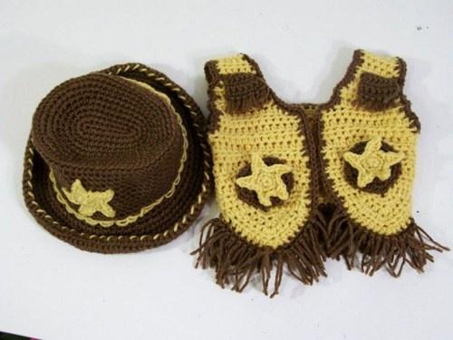 Free Crochet Pattern Baby Cowboy Chaps : Pin Baby Crochet Cowboy Hat Pattern Free on Pinterest