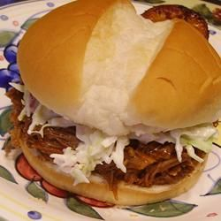 bourbon-mango pulled pork sliders | Yum | Pinterest