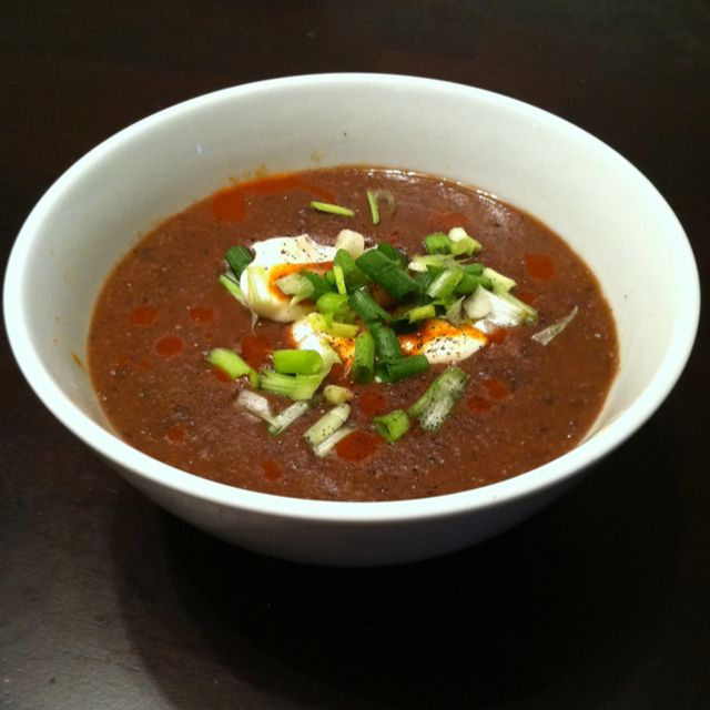 Crock pot spicy black bean soup! Find any recipe for it on Pinterest!