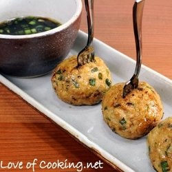 Asian Turkey Meatballs with a Lime Sesame Dipping Sauce — Punchfork