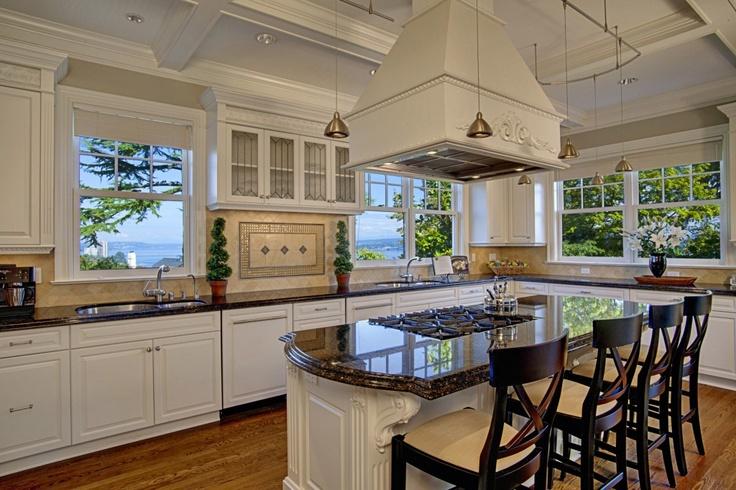 Beautiful White Open Kitchen My Style Pinterest