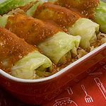 Vegetarian Cabbage Rolls | food | Pinterest