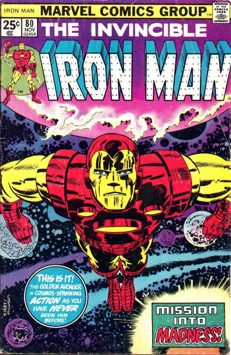 Iron Man by Jack Kirby | JACK KIRBY | Pinterest