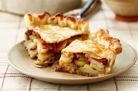 Potato and minced meat pie | Recipe