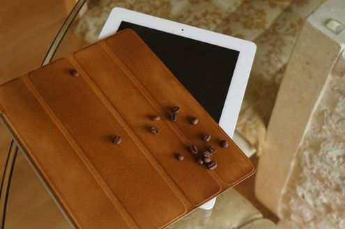 How to: Coffee-Stained iPad Smart Cover
