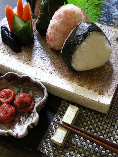 Japanese rice balls, Onigiri | Japan | Pinterest