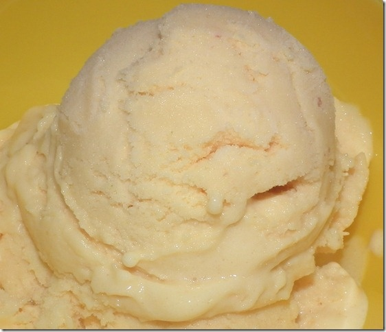 mango peach ice cream | Ice Cream and Popsicles | Pinterest