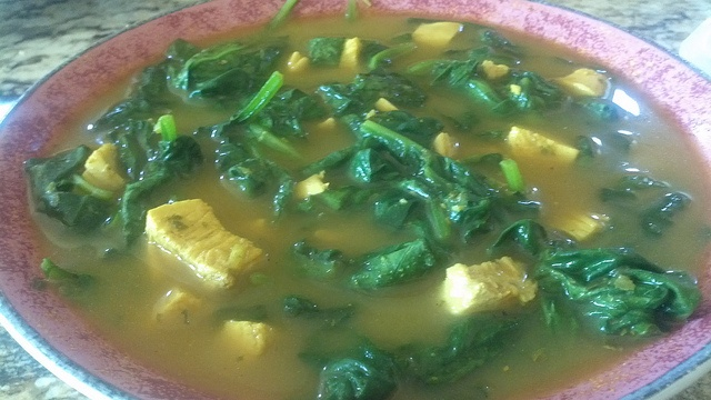 Spinach, ginger, chicken soup | Food, etc... | Pinterest