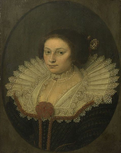 """Portrait of Aertje Witsen (1599-1652)"", 1626, by David Bailly (Dutch, 1584-1657)"