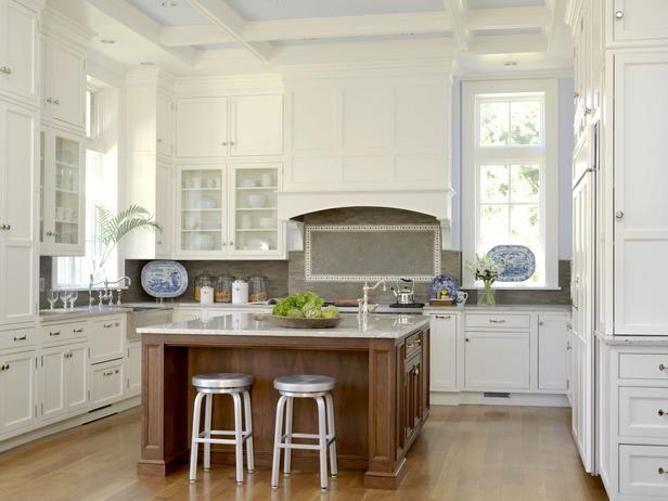11 beautiful kitchen backsplashes this subtle backsplash gets its