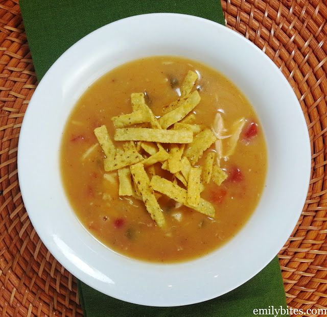 Chicken Tortilla Soup | Slow and Steady Wins the Race | Pinterest
