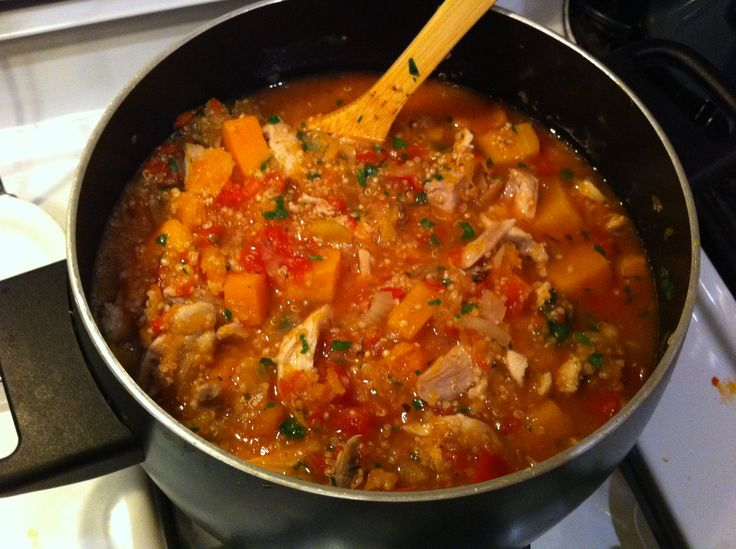 Hearty Chicken Stew With Butternut Squash & Quinoa Recipes ...