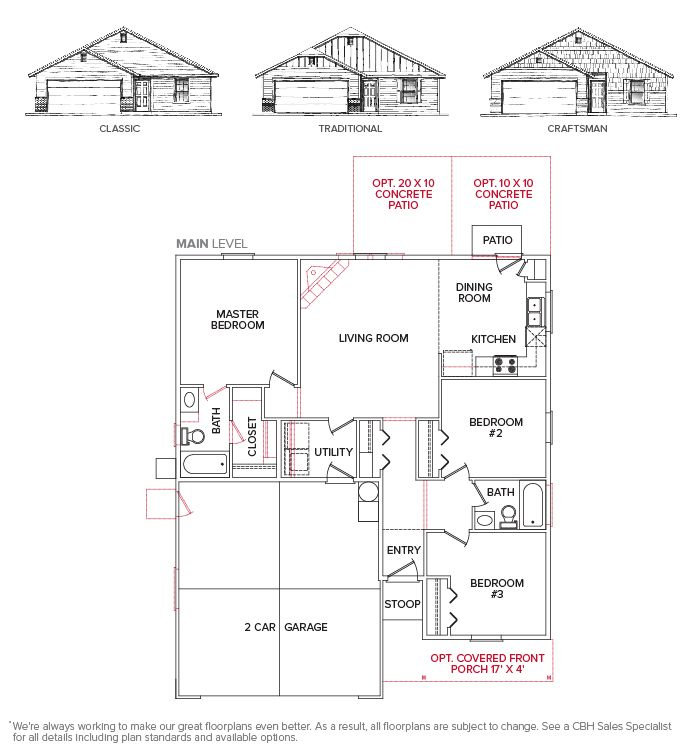Garnett 1125 ::: Floor Plan | Advantage Collection Homes ...