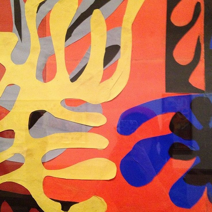Henri Matisse, Tate Modern | Cut-outs | Pinterest