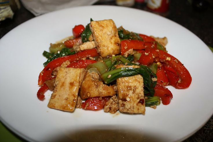 Tofu Bok Choy Stir-Fry | Quinoa/Tofu Dishes | Pinterest