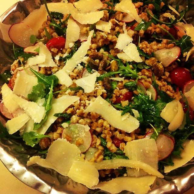 Charlie Bird's Farro Salad Recipe - Nutrition Unplugged
