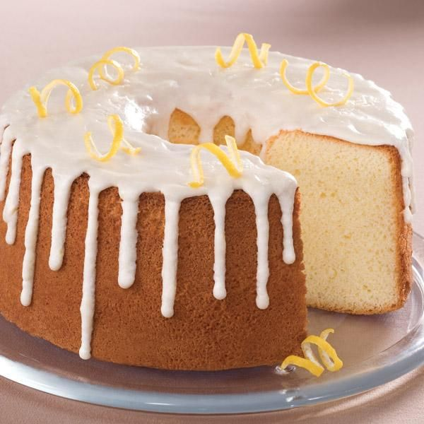 Chiffon Cake With Lemon Icing Recipes — Dishmaps