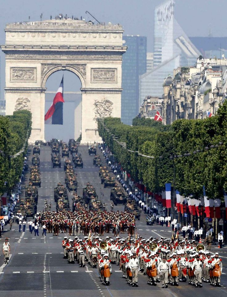 bastille day france events