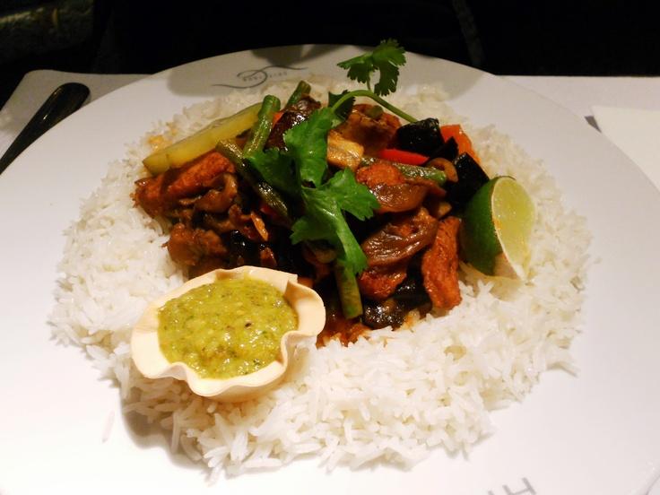 Red Thai Curry @Restaurant Hiltl, Zurich | Yum | Pinterest