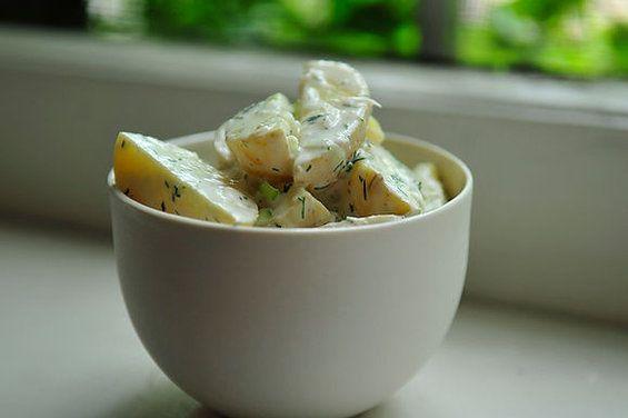 Horseradish Dill Potato Salad recipe from Food52