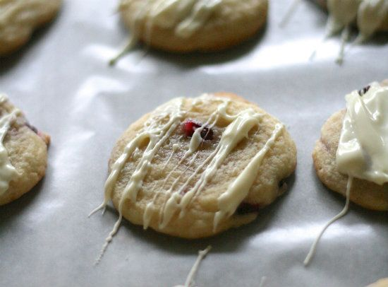 ... chocolate chunk cookies pomegranate white chocolate chunk cookies two
