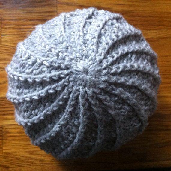 Crochet Hat Pattern Spiral : Crochet Spiral Hat