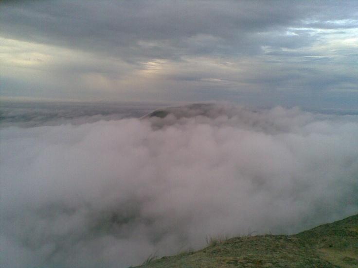 Nandi Hills at 5.45am