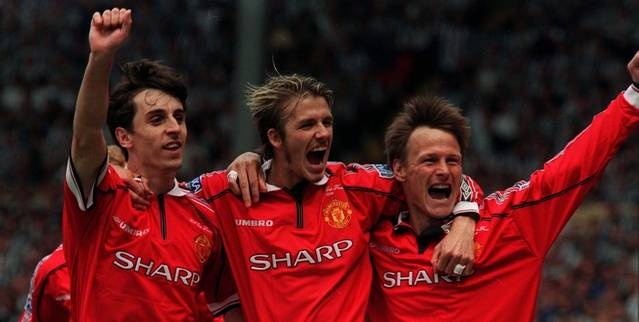 david beckham manchester united trikot