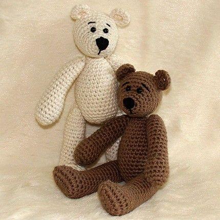 Pattern ~ Miniature Crochet Teddy Bears « Crafts « Zoom
